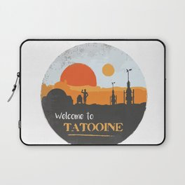 Welcome to Tatooine Laptop Sleeve