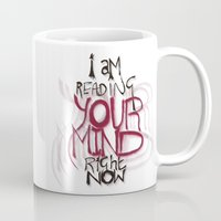 patriarchy Mugs featuring ...and the things I see are really ugly by instantgaram
