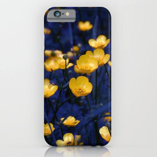 a sea of buttercups iPhone & iPod Case