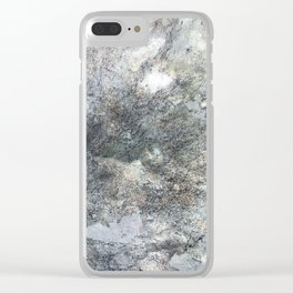 Mountain Rock Clear iPhone Case