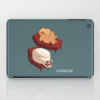 psychology iPad Cases featuring Chessy goes to Psychology  by ivanov1ch