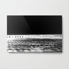 The Out-going Tide Metal Print