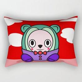 Eggy McBear Rectangular Pillow