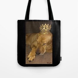 """""""PRINCE * PLaY-DoH"""" from the photo series""""My dog, PLaY-DoH"""" Tote Bag"""