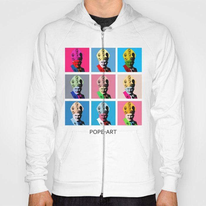Pope art Hoody