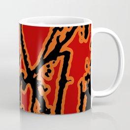 Vivid Abstract Grunge Texture Coffee Mug