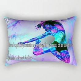 The Meaning of Joy Rectangular Pillow