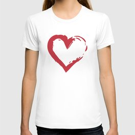 Heart Shape Symbol T-shirt