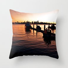 A View From The North Shore Throw Pillow