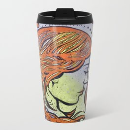 In my head Metal Travel Mug