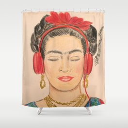 The Modernization of Frida Shower Curtain
