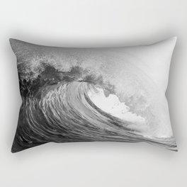 Backdoor Wedge   B&W ~ Newport Beach CA Rectangular Pillow