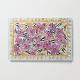 Purple Floral Bouquet  Metal Print