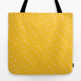 Star Dust Tangerine Tote Bag