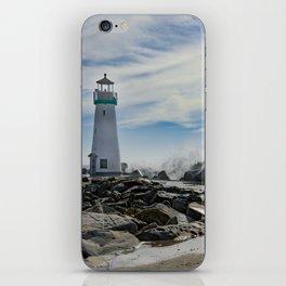 Walton Lighthouse Santa Cruz California Photography iPhone Skin