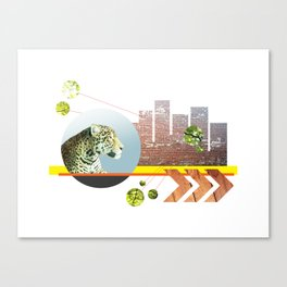 Urban Jungle #3 Canvas Print