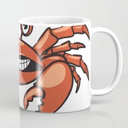 Cartoon Cute Crab Coffee Mug
