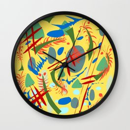Tickle My Fancy Wall Clock