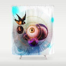 Eyecatching Shower Curtain