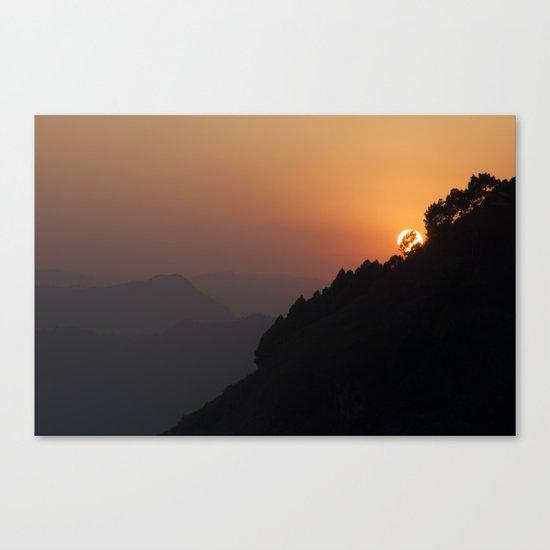 sun struck Canvas Print