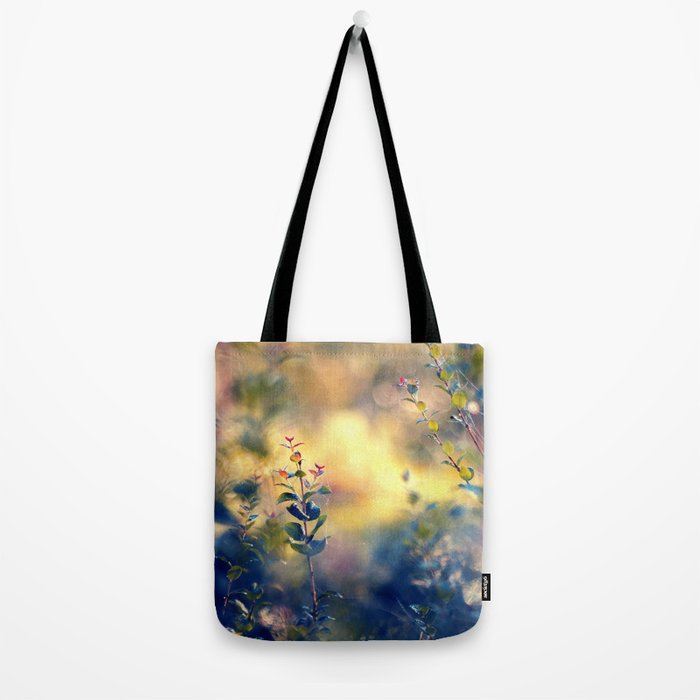 Arrival of Time Tote Bag