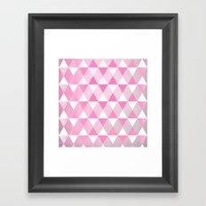 Pink Luck Framed Art Print