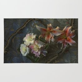 The Begonia Brocade Rug