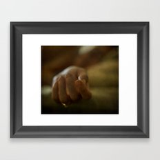 depression. Framed Art Print