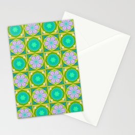 Japanese Blossoms - Retro Stationery Cards