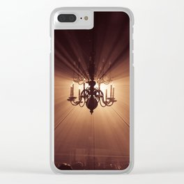 Behind the Candelabra Clear iPhone Case