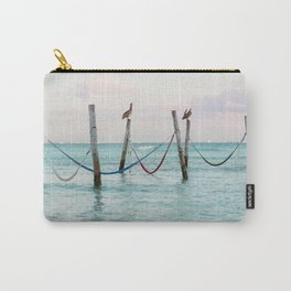 Sunrise on the Caribbean Carry-All Pouch