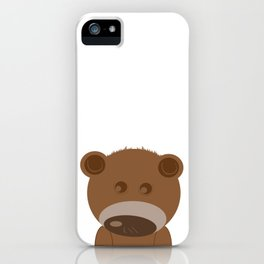 Beary Cute iPhone Case