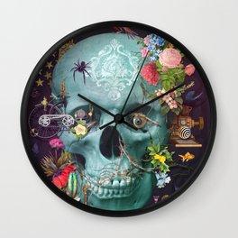 CREATION Skull Wall Clock
