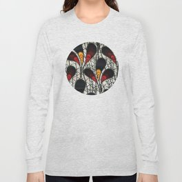 African Tribal Pattern No. 105 Long Sleeve T-shirt