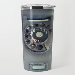 Old Rotary Telephone Travel Mug