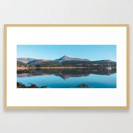 Goatfell Across the Water Framed Art Print