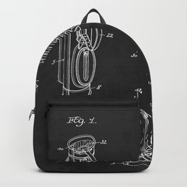 Golf Bag 1933 Patent Backpack