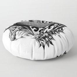 Tiger Helm Floor Pillow