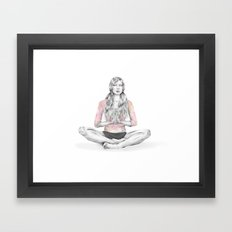 You'll find what you need Framed Art Print