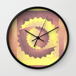 Twisted in the sky Wall Clock