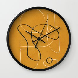 Form Line 2 Wall Clock