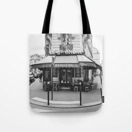 Brasserie Paris Tote Bag