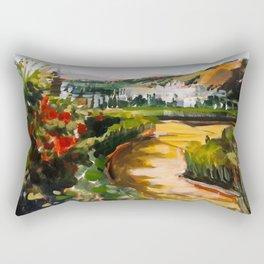 Gardens of La Alhambra Rectangular Pillow