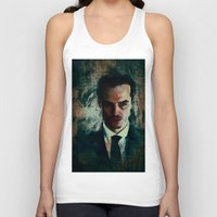 moriarty Tank Tops featuring Moriarty by Sirenphotos