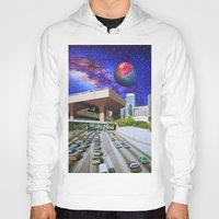 interstellar Hoodies featuring Interstellar Interstate by John Turck