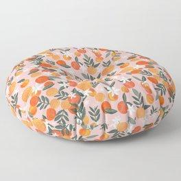 Happy Oranges Floor Pillow