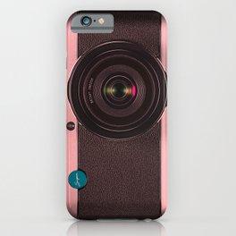 Vintage Camera III - Rosé Gold iPhone Case