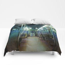 Ghost Train Comforters