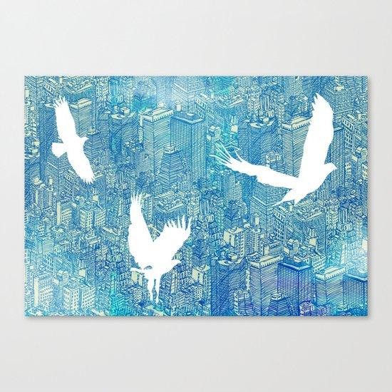 Ecotone (day) Canvas Print