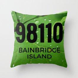98110 Throw Pillow